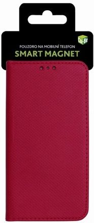 NONAME Cu-Be Pouzdro s magnetem Samsung S9 (G960) Red