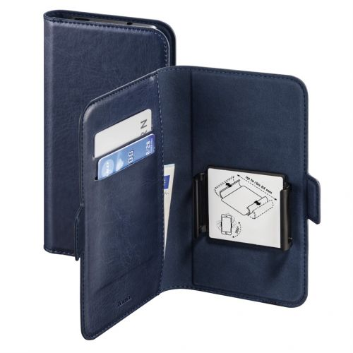 "Hama spol s r.o. Hama Smart Move Booklet Case, size XL (4,7-5,1""), blue"