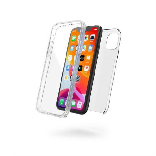 Hama spol s r.o. Hama 360 ° ochranný kryt pro Apple iPhone 11, 2-dílný, průhledný