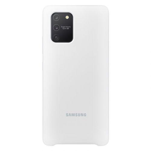 Samsung Silikonový kryt pro Galaxy S10 Lite White