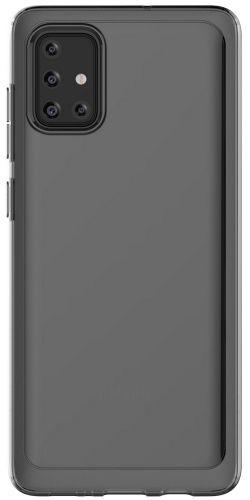 Samsung Poloprůhledný zadní kryt pro Galaxy A71 Black