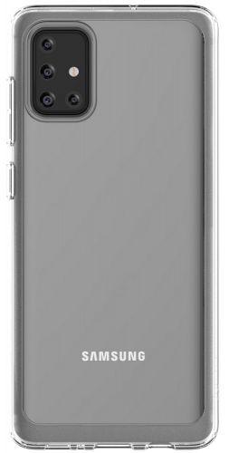 Samsung Poloprůhledný zadní kryt pro Galaxy A71 Transparent