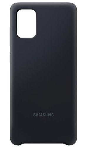 Samsung Silikonový kryt pro Galaxy A71 Black