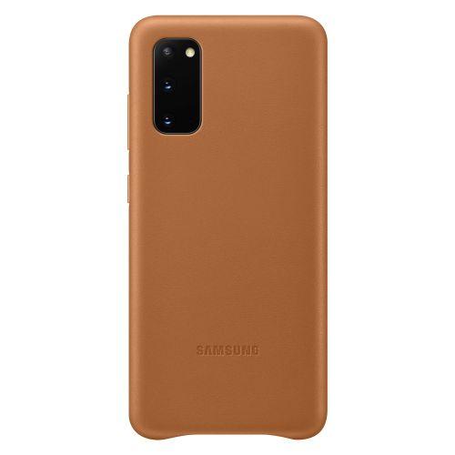 Samsung Kožený kryt pro S20 Brown