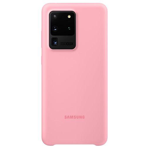 Samsung Silikonový kryt pro S20 Ultra Pink
