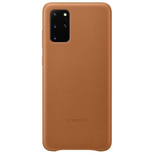 Samsung Kožený kryt pro S20+ Brown