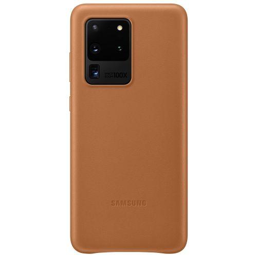 Samsung Kožený kryt pro S20 Ultra Brown