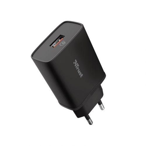 TRUST nabíječka Qmax 18W Ultra-Fast USB Wall Charger with QC3.0