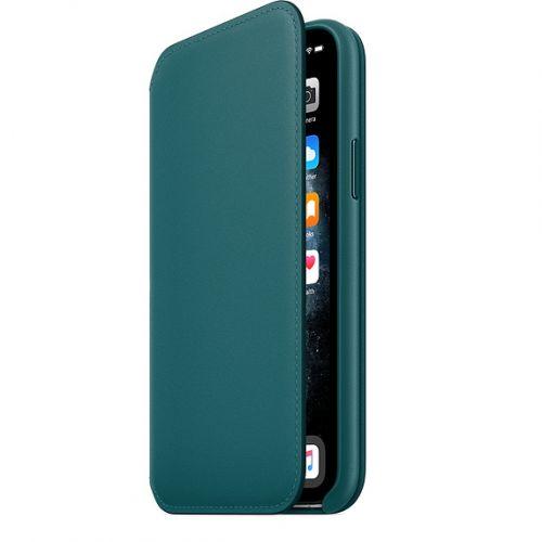 APPLE iPhone 11 Pro Leather Folio - Peacock