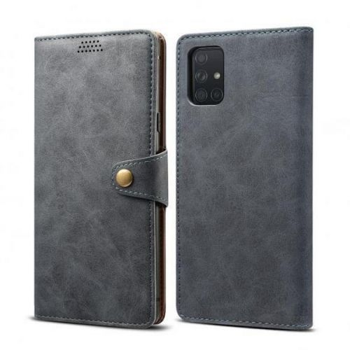 Xiaomi Lenuo Leather pro Samsung Galaxy A51, šedá