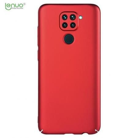 Lenuo Leshield obal pro Xiaomi Redmi Note 9, červená