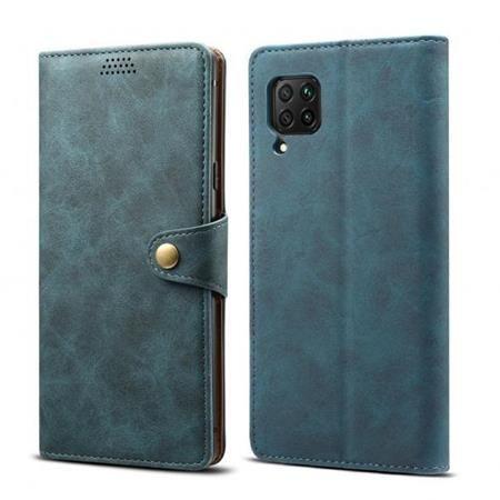 Xiaomi Lenuo Leather flipové pouzdro pro Huawei P40 Lite E, modrá