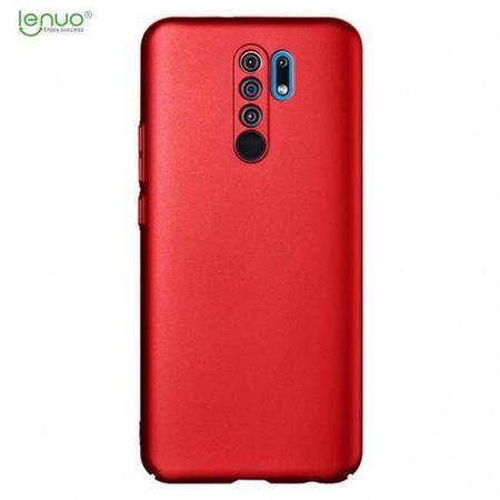 Lenuo Leshield obal pro Xiaomi Redmi 9, červená