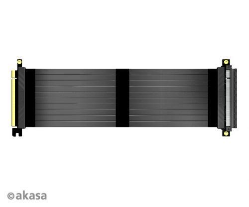 AKASA Riser black X3, 30 cm