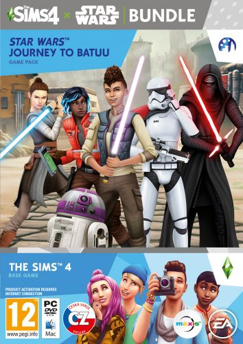 ELECTRONIC ARTS PC - The Sims 4 + Star Wars - bundle