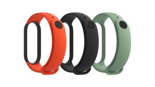Xiaomi Mi Smart Band 5 Strap (Black,Orange,Cyan)