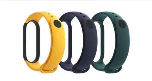 Xiaomi Mi Smart Band 5 Strap (Blue,Yellow,Green)