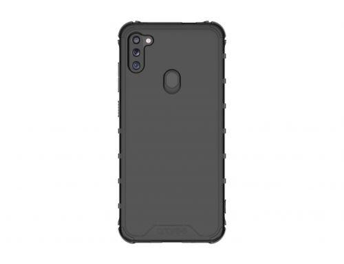 Samsung Poloprůhledný zadní kryt pro M11 Black