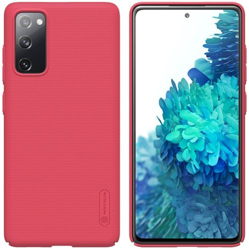 NONAME Nillkin Frosted Kryt Samsung S20 FE Bright Red