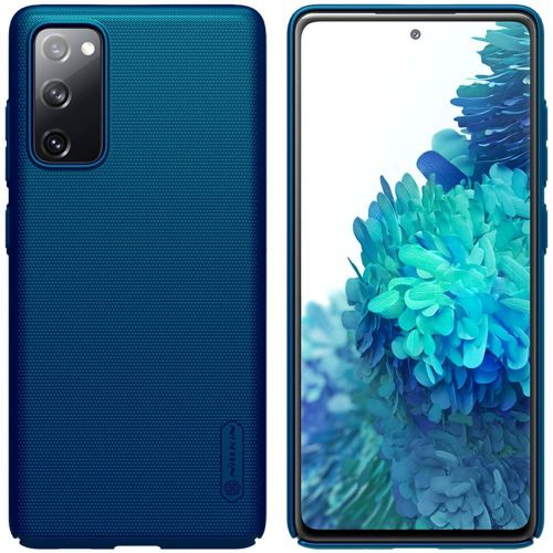 NONAME Nillkin Frosted Kryt Samsung S20 FE Peacock Blue