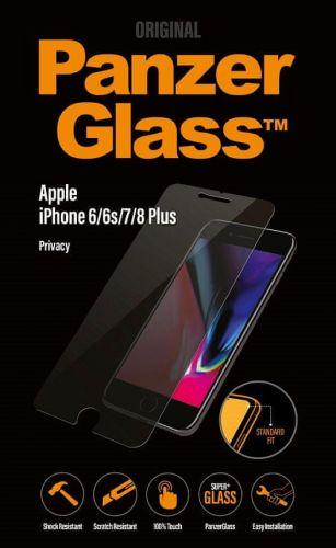PanzerGlass Standard Privacy pro Apple iPhone 6/6s/7/8 Plus čiré (P2629)