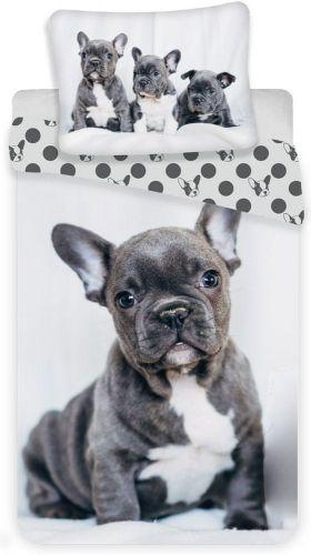 Jerry Fabrics Povlečení Bulldog