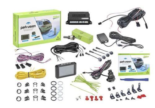 Valeo Parkovací asistent 632211 Park Vision, přední a zadní, kamera, TFT displej, 4 senzory, zvukový signál, 9-16 V