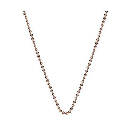 Hot Diamonds Stříbrný řetízek Hot Diamonds Emozioni Bead Rose 61 CH052 stříbro 925/1000