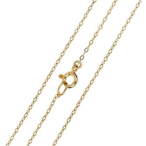 Brilio Elegantní zlatý řetízek Anker 42 cm 271 115 00272