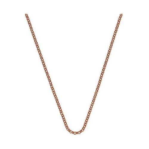 Hot Diamonds Růžově pozlacený řetízek Emozioni Belcher CH054 stříbro 925/1000