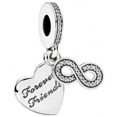 Pandora Přívěsek Forever Friends 791948CZ stříbro 925/1000