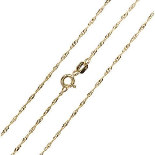Brilio Luxusní řetízek ze žlutého zlata 45 cm 271 115 00181
