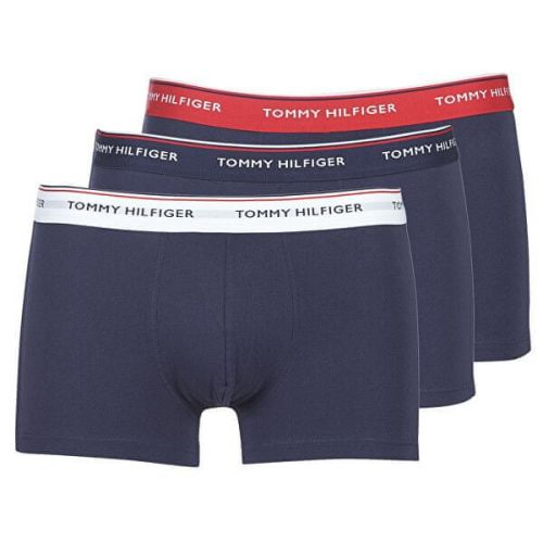 Tommy Hilfiger 3 PACK - pánské boxerky 1U87903842-904 Multi/Peacoat (Velikost XL)