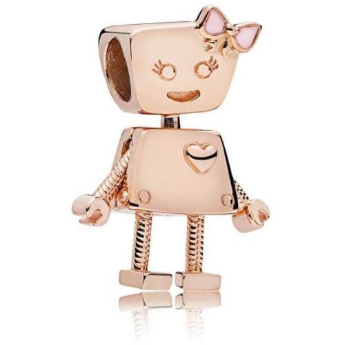 Pandora Bronzový přívěsek Robotka Bella 787141EN160 stříbro 925/1000