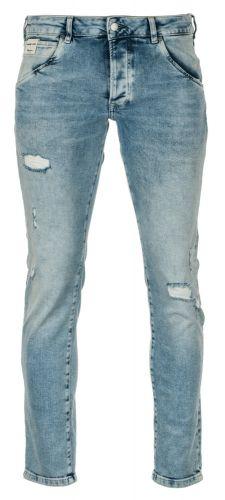 Pepe Jeans pánské jeansy Stanley 30/34 světle modrá