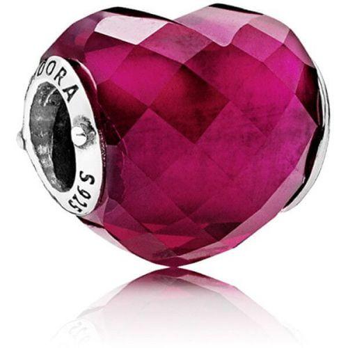 Pandora Romantický korálek Srdce 796563NFR stříbro 925/1000
