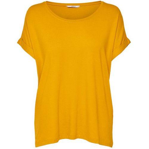 ONLY Dámské triko Moster 15106662 Golden Yellow (Velikost XS)