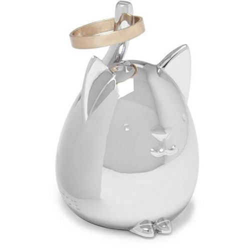 Umbra Šperkovnice SQUIGGY CAT chrom 1012675158