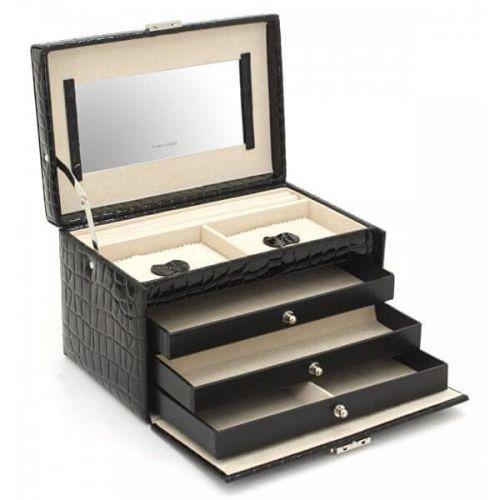 Friedrich Lederwaren Šperkovnice černá/béžová Jolie 23254-20 cena od 1350 Kč