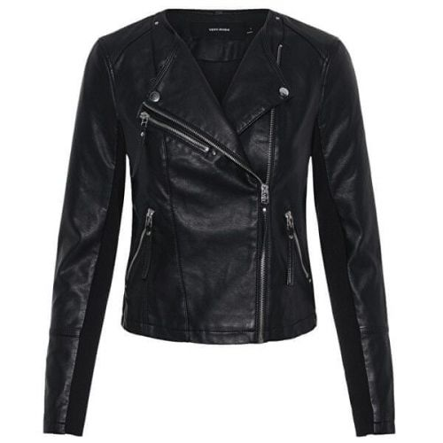 Vero Moda Dámská bunda VMRIA 10211420 Black (Velikost XS)