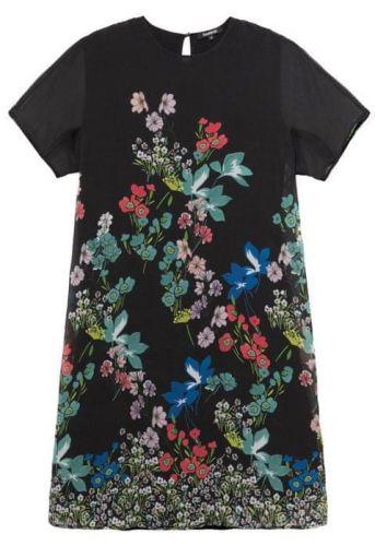 Desigual dámské šaty Vest Loretha 36 černá