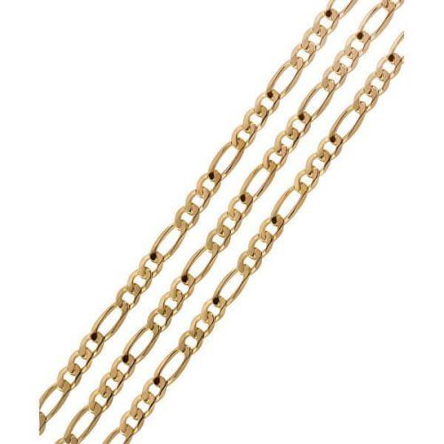 Brilio Pánský zlatý řetízek 55 cm 271 115 00360 10