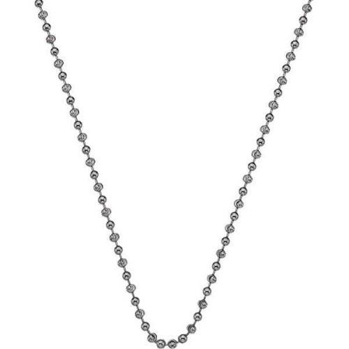 Hot Diamonds Stříbrný řetízek Emozioni Rhod Plated Bead Chain 30 CH017 stříbro 925/1000