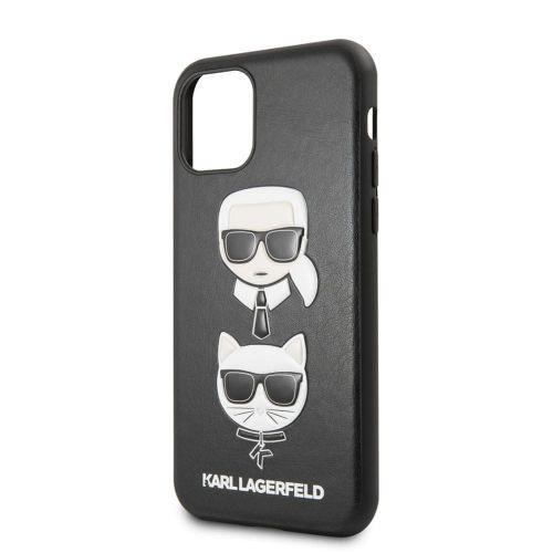 Karl Lagerfeld &Choupette Kryt pro iPhone 11 Pro Black (EU Blister) (KLHCN58KICKC)