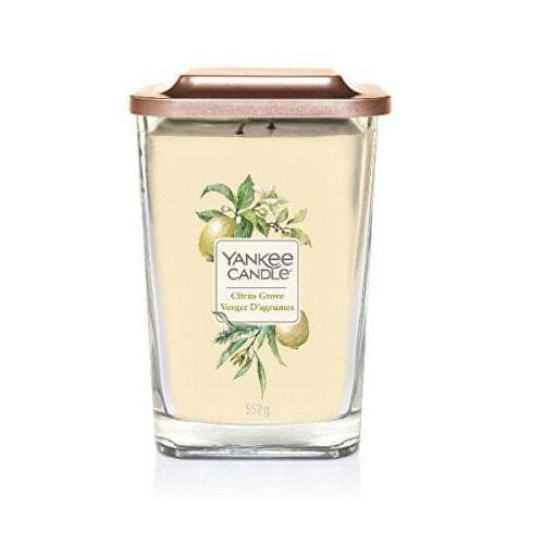 Yankee Candle Aromatická svíčka velká hranatá Citrus Grove 552 g