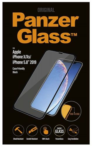 PanzerGlass Edge-to-Edge pro Apple iPhone X/Xs/11 Pro černé, 2664