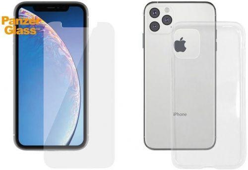 PanzerGlass Standard Bundle pro Apple iPhone 11 Pro Max (Standard fit + Clear TPU Case), B2663