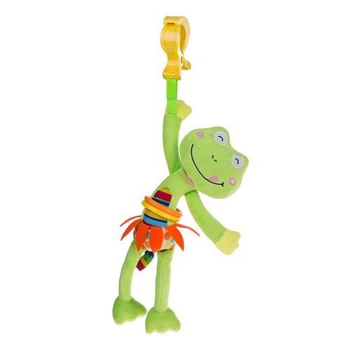 AKUKU Dětská plyšová hračka s vibrací Akuku žabka