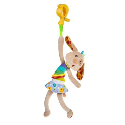AKUKU Dětská plyšová hračka s vibrací Akuku pejsek