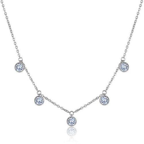Brosway Třpytivý náhrdelník Symphonia BYM08